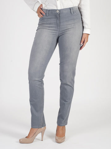 Michele Grey Magic Denim Jeans Shorter