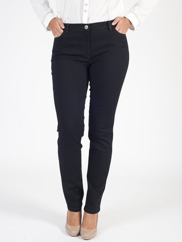 Michele Black 5 Pocket Power Stretch Magic Jean