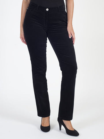Michele Black Magic Velvet Jean Shorter