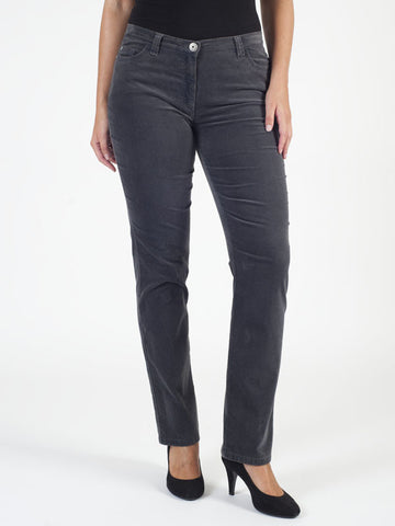 Michele Grey Magic Velvet Jean Shorter