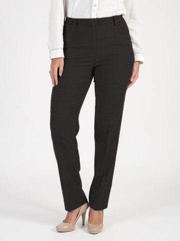 Michele Black Flannel Trouser Regular