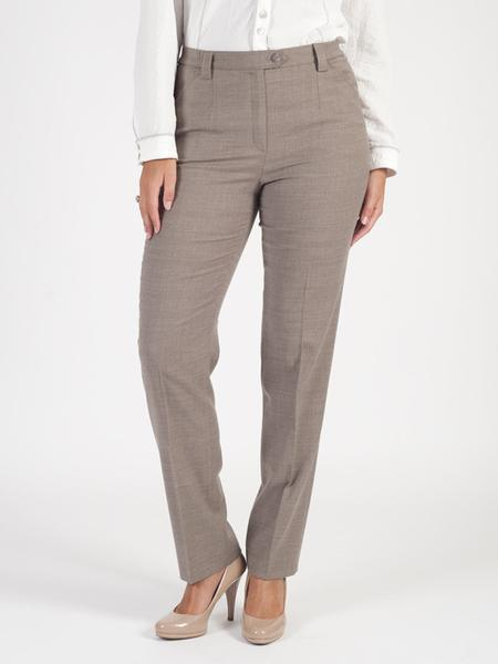 Michele Taupe Classic Flannel Trouser Shorter