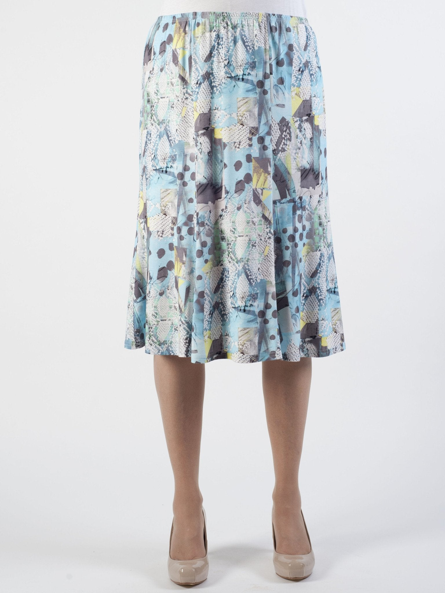 Rabe Printed Jersey Skirt