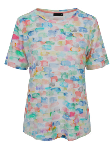 Rabe Pastel Multi Short Sleeve T-shirt