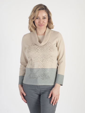 RABE Cowl-neck Jumper