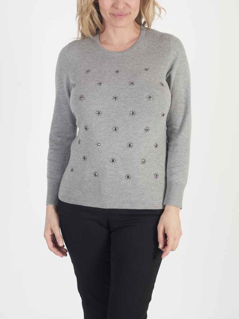 Chesca Direct RABE Beaded Jumper