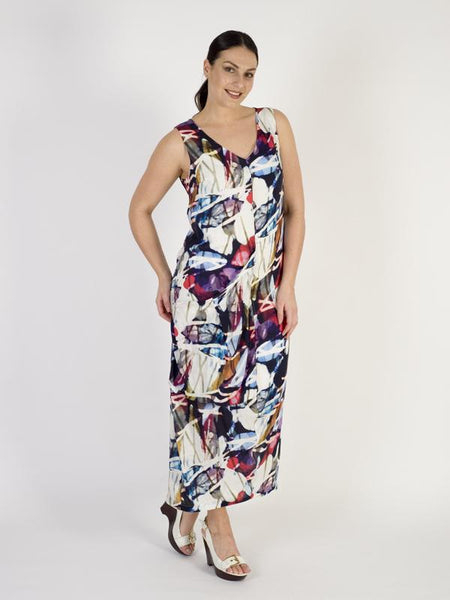 Vetono Multi Printed Woven Dress