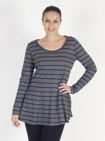 Zeitlos Striped Jersey Top