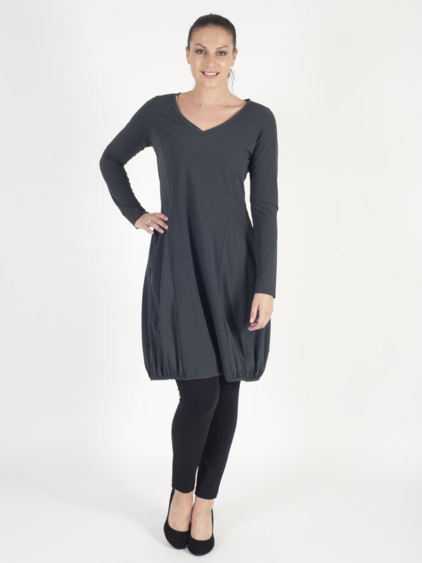 Zeitlos Charcoal Dress