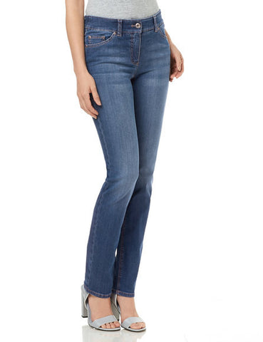 Gerry Weber Mid-wash Perfect Fit 'Roxy' Stretch Jeans
