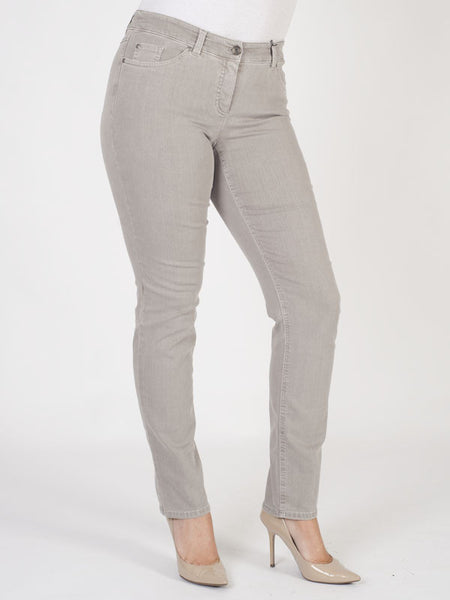 Gerry Weber Taupe Perfect Fit 'Roxy' Stretch Jeans