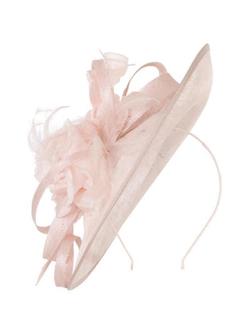 Pink Medium Flower & Curl Hatinator