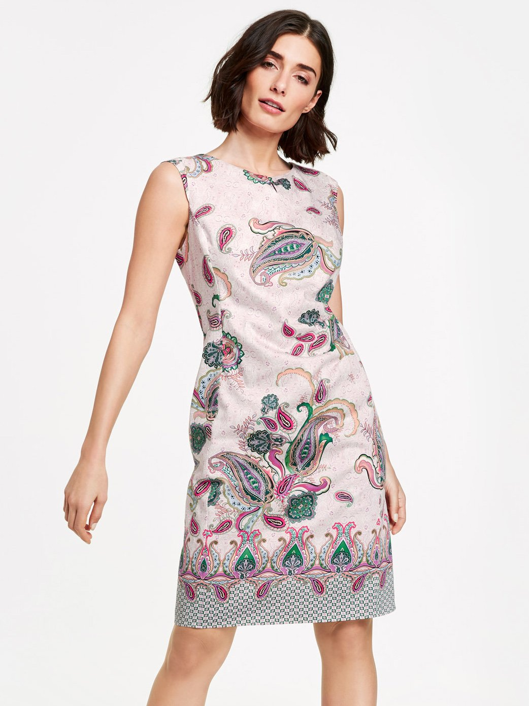 Gerry Weber Lilac/Pink Paisley Shift Dress