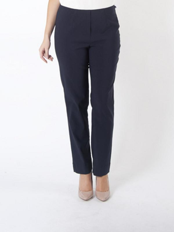 Navy Slim Stretch Trouser