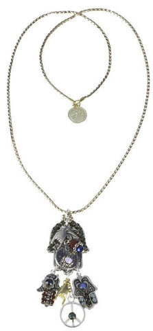 Silver_Pendant_Beaded_Gold_Necklace_J81Y132_alt1