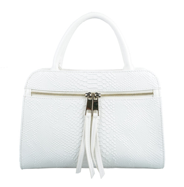 Small White Alice Handbag