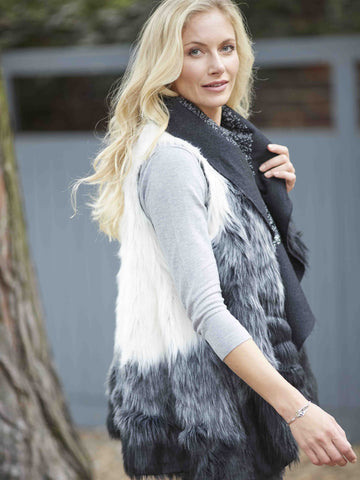 Betty Barclay Reversible Fur-lined Gilet