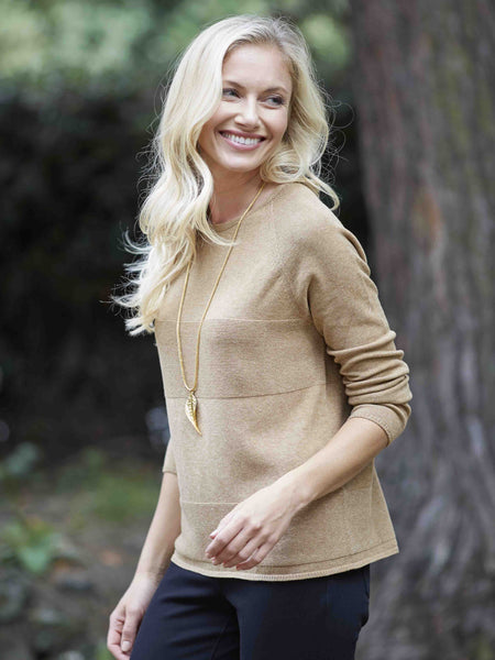 Gerry Weber Soft Knit Camel Jumper