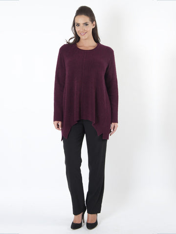Wine Tunic Knitwear