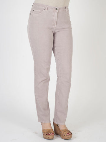 Gerry Weber Dusky Rose Perfect Fit 'Romy' Stretch Jeans