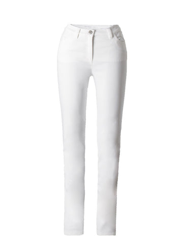 Michele Magic White Denim Jeans – Short