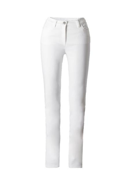 Michèle Magic White Soft Cotton Jeans – Regular
