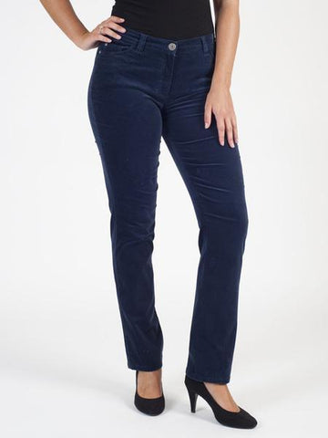 Michele Navy Magic Velvet Jean