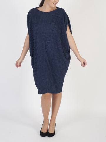Ronen Chen Pleated Cocoon Dress