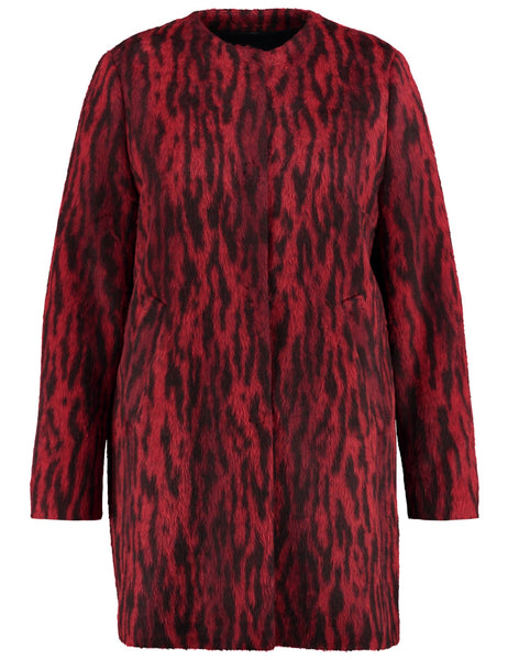 SAMOON Faux Fur Coat