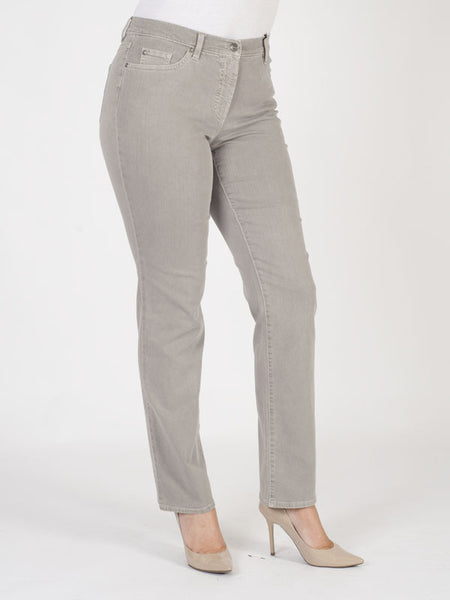 Gerry Weber Taupe Perfect Fit 'Romy' Stretch Jeans