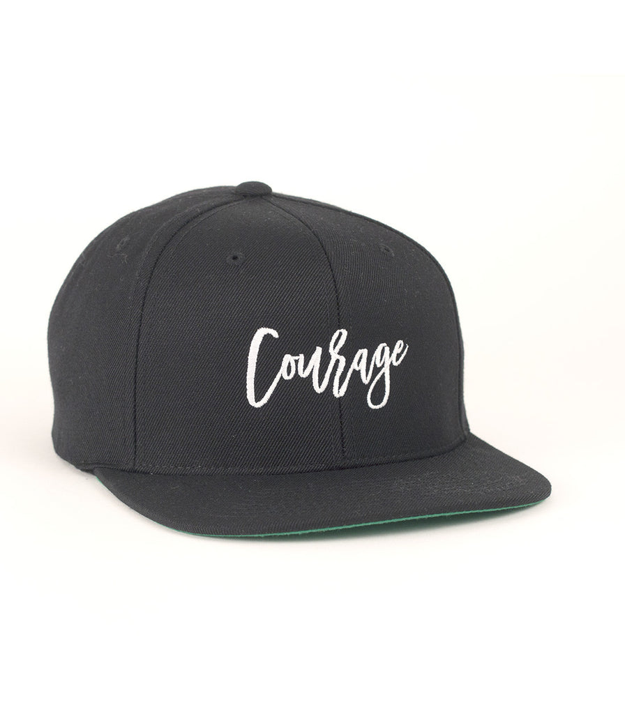Courage White Black