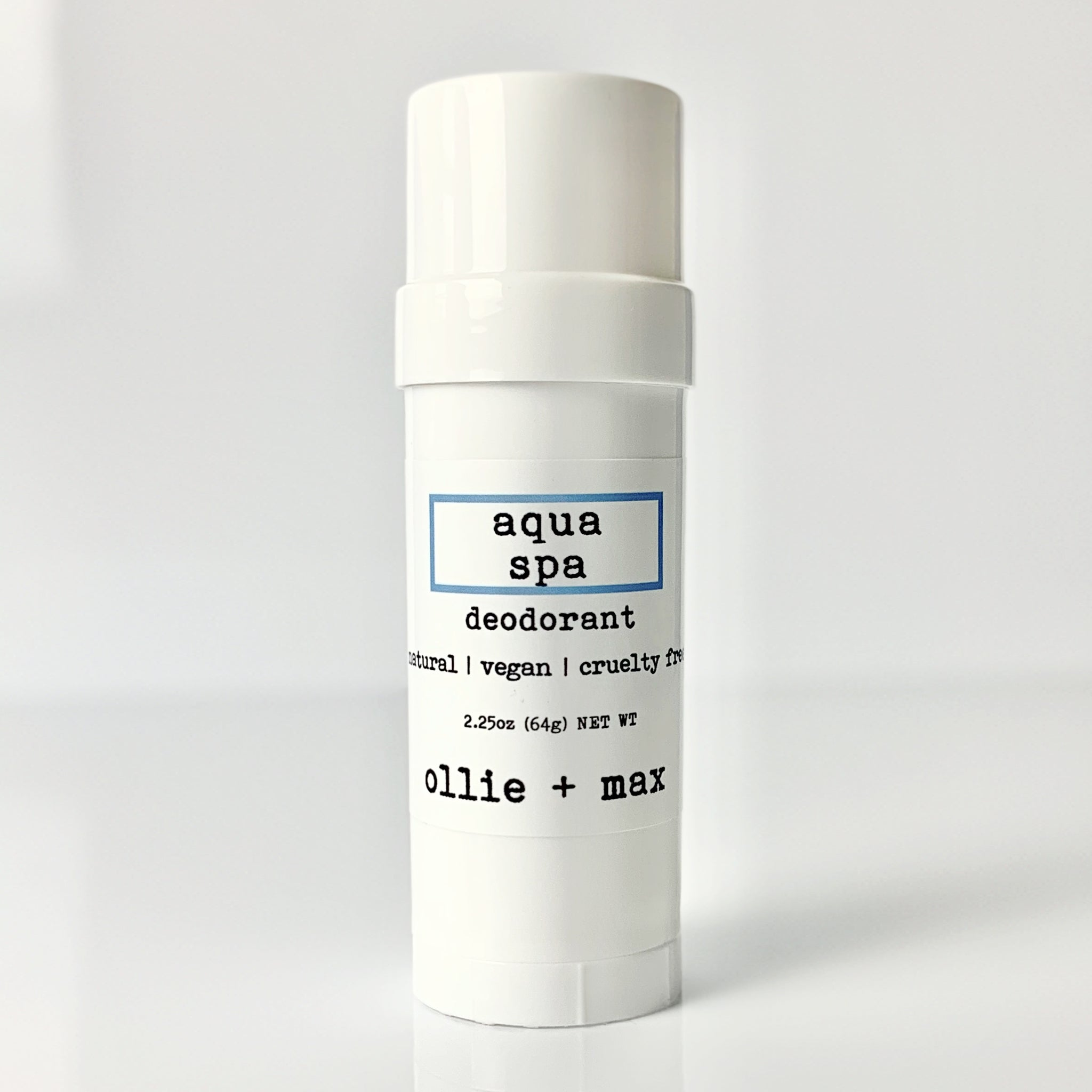 Aqua Spa - Limited Edition Vegan Deodorant Tube