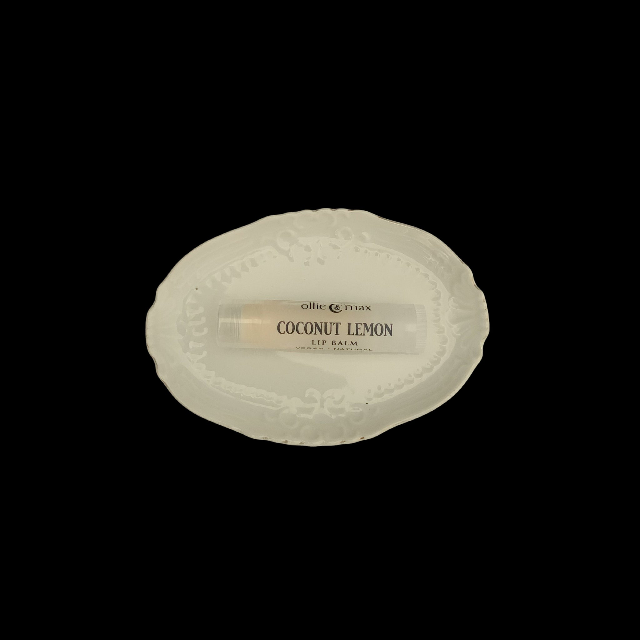 Coconut Lemon Vegan Lip Balm