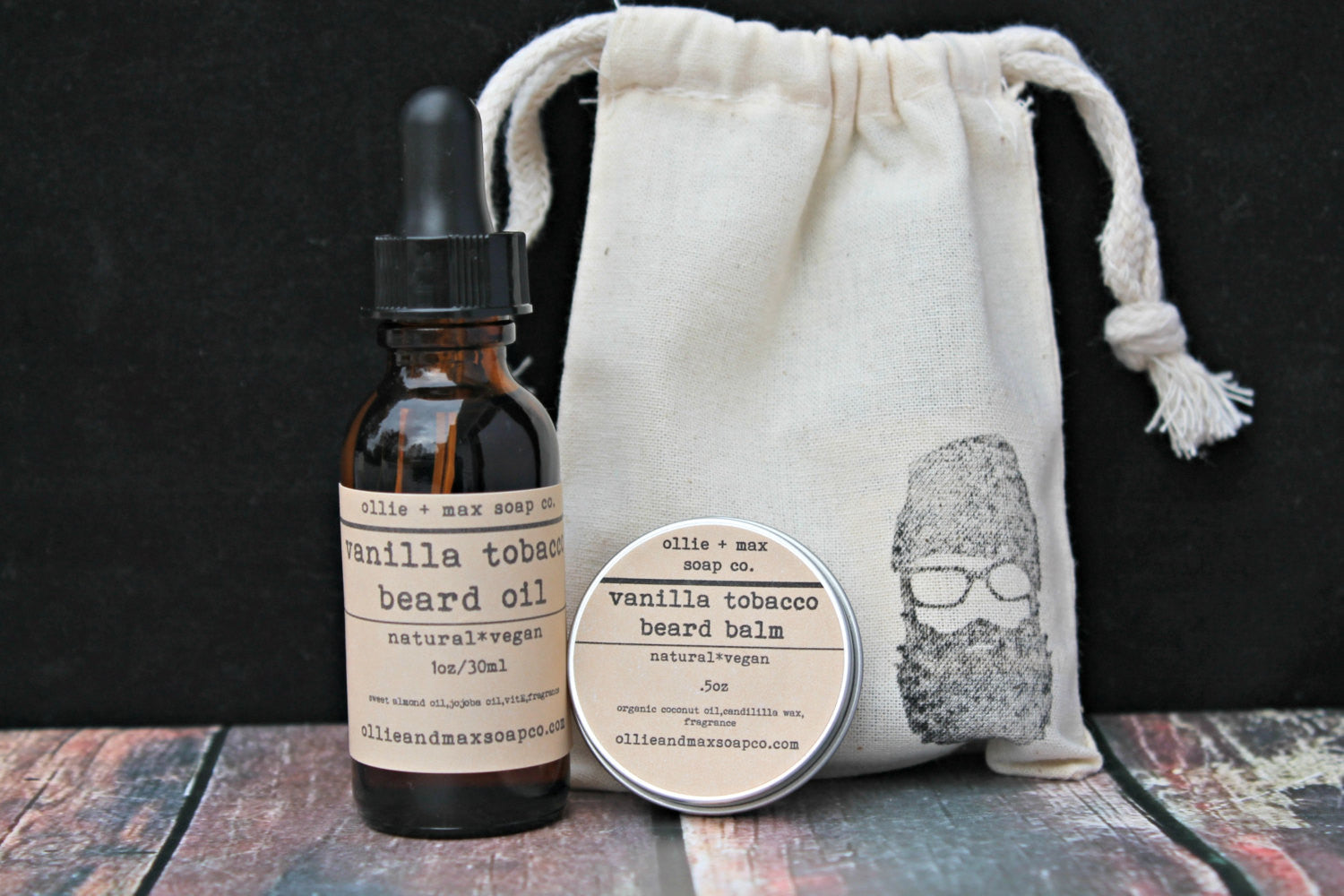 Vanilla Tobacco Beard Grooming Kit