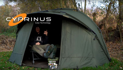 "Cyprinus™ 1 Man Base HQ ""Head Quarters"" Bivvy"