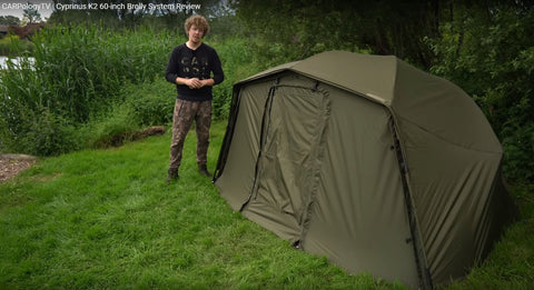 "Cyprinus K2 60"" Brolly System UK Version"