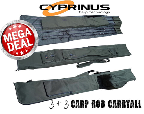 Cyprinus™ 12ft 3+3 Carp Rod Holdall