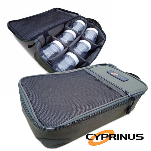 Cyprinus™ Glug Bag With 6 Glug Pots