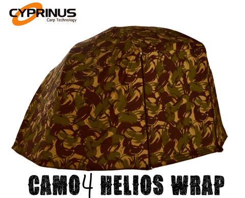 "Overwrap for Cyprinus CAMO4 Helios and Rapide 55"" Brolly"