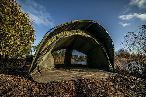 Cyprinus K2 Carp Fishing Bivvy 2 Man Green