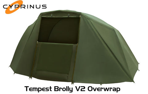 Cyprinus™ Overwrap Wrap Fits Trakker Tempest Brolly V2 Perfectly