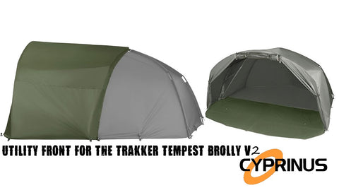 Cyprinus™ Utility front fits the Trakker Tempest V2 Brolly