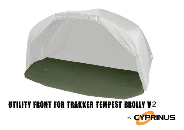 Ground sheet for the Trakker Tempest V2 Brolly Utility Front