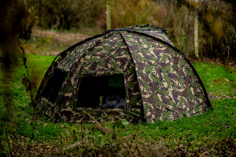 Cyprinus Typhoon Full Bivvy System DPM4 Camo Version 20,000HH