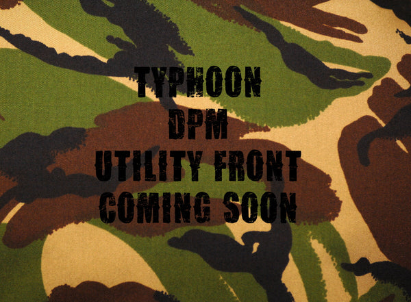 Cyprinus™ Extended Overwrap / Utility front for DPM4 Camo Typhoon Bivvy