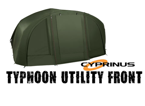 Cyprinus™ Extended Overwrap / Utility front for M4 Green Typhoon Bivvy