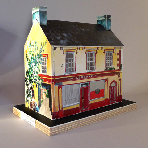 Model of Curran's pub, Dingle