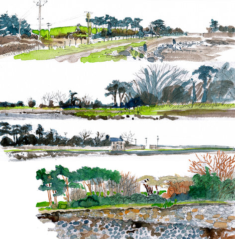 drawings of Spike Island
