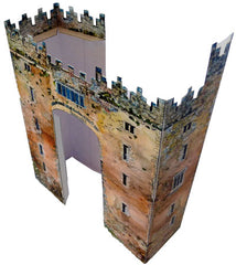 South facade of Bunratty Castle Model