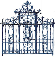 Crawford front gate